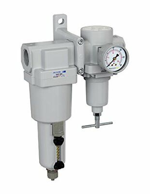 Pneumaticplus Heavy Duty High Flow Air Filter Regulator Combo 1 Npt