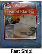Sunbeam Electric Blanket Full