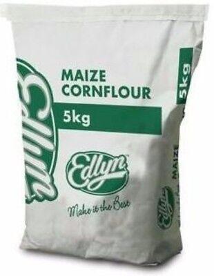 BULK MAIZE CORNFLOUR CORN FLOUR 5KG GLUTEN FREE BY EDLYN - FREE POST!