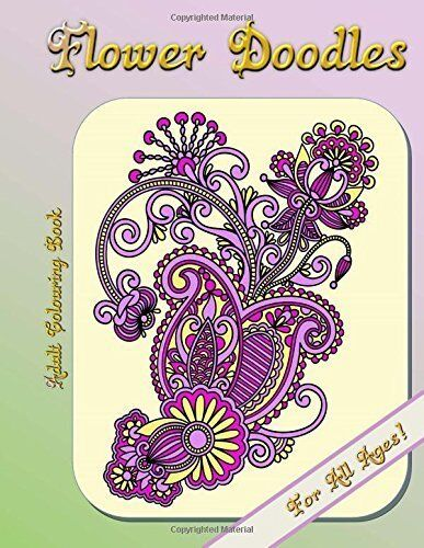 Adult Colouring Book - Flower Doodles by Louise (9781512311648)