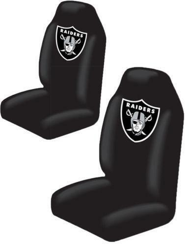 raiders seat covers ebay. Black Bedroom Furniture Sets. Home Design Ideas