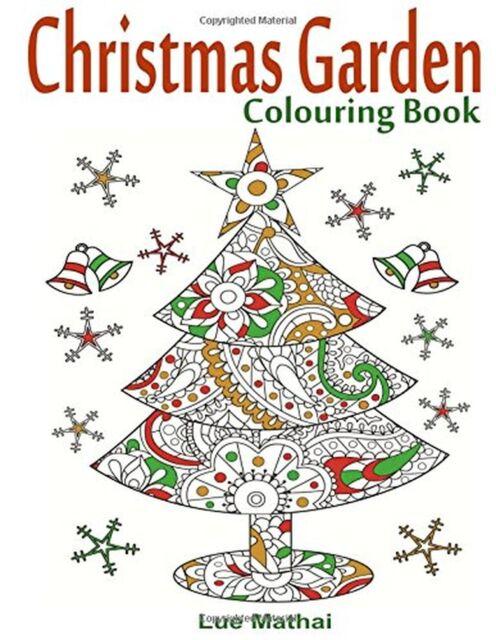 Christmas Garden Colouring Book: Christmas Colouring Book for Adults... NEW BOOK