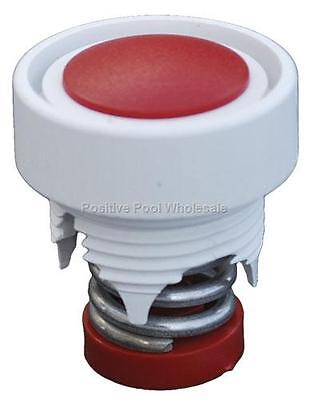 Pentair Letro Pool Cleaner E25 Wall Fitting Pressure Relief Valve Red