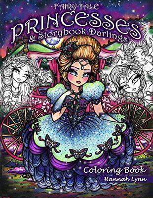 Fairytale Princessess Storybook Darlings Adult Colouring Book Alice Cinderella
