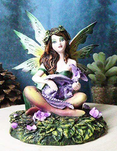 "Ebros My Baby Pet Dragon Fairy Collectible Home Decor Figurine 5.5""H Fantasy"