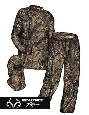 2016 HECS Stealthscreen Suit Realtree Xtra Camo Size Large