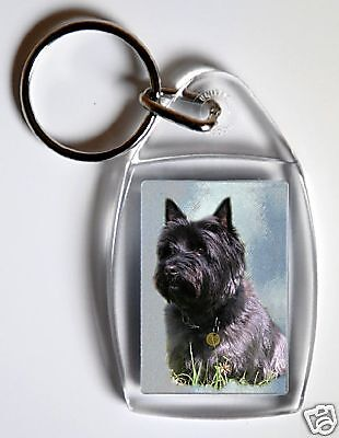 Cairn Terrier Key Ring By Starprint - No 4