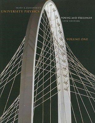 Sears & Zemansky's University Physics, 13th edition, Vol 1 (Paperback) (University Physics 13th Edition)
