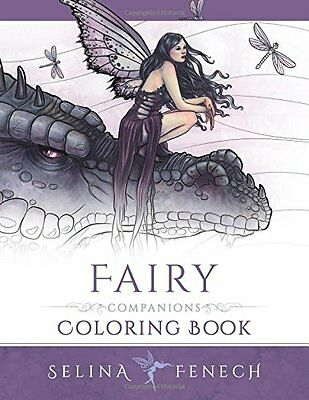 MALBUCH für ERWACHSENE ★ FAIRY ★ Zen Art Therapy Companions Adult Coloring Book