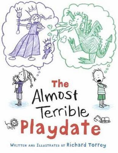 NEW Almost Terrible Playdate By Richard L. Torrey Hardcover Free Shipping