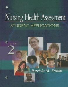 Nursing Health Assessment: Student Applications. Dillon. Book.
