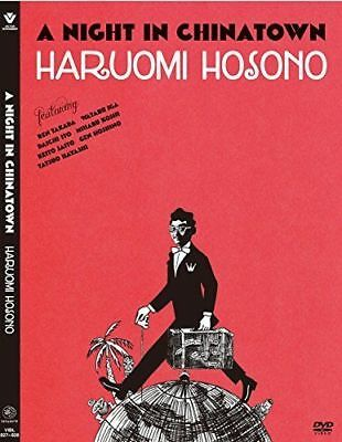 HARUOMI HOSONO-A NIGHT IN CHINATOWN-JAPAN DVD O75 A Night In China