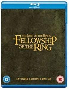 The Lord Of The Rings Fellowship Of The Ring Extended [Blu-ray] New UNSEALED