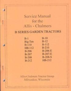 allis chalmers b tractor allis chalmers b 10 tractor