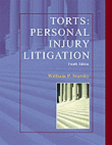 Torts Personal Injury Litigation (West Legal Studies)-ExLibrary 1