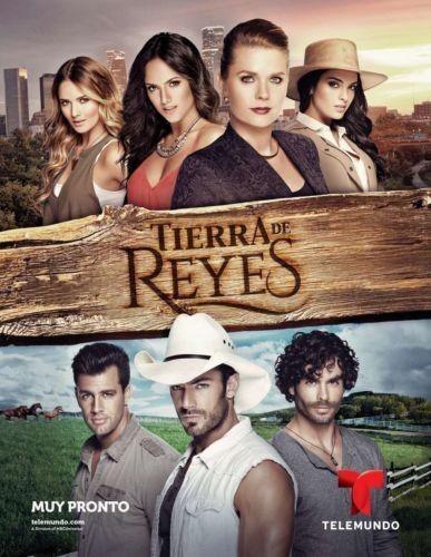 TIERRA DE REYES,TEENOVELA MEXICANA(40 DVDS) UNICA TEMPORADA