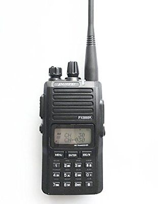 (PUXING PX-888K Dual Band  Walkie Talkie, Handheld Amateur PX888K Two Way Radio)