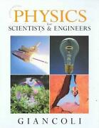 Physics for Scientists and Engineers Giancoli