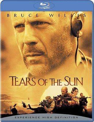 Tears Of The Sun New Sealed Blu Ray Bruce Willis