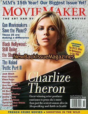 Movie Maker 1 08 Charlize Theron Jack Black January 2008 New