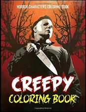 Creepy Coloring Book Freak Of Horror For Kids and Adults ...
