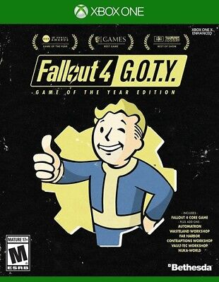 Fallout 4 - Game of the Year Edition for Xbox One [New Xbox One]