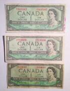 1954 Canadian Dollar