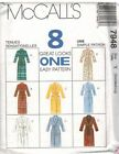 McCall 's Male Mixed Lot Sewing Patterns