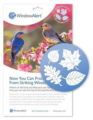 Window Alert Bird - WINDOW ALERT LEAF MEDLEY WILD BIRD PROTECTION, Lot of 2 Packages of 5 Each......