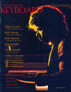 KEYBOARD/ELECTRONIC MUSICIAN magazines back issues ...