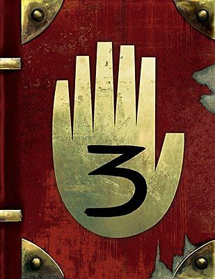 Gravity Falls  Journal 3  By Alex Hirsch Hardcover