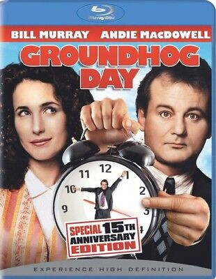Groundhog Day  New Blu Ray  Ac 3 Dolby Digital  Dolby  Dubbed  Subtitled  Wide