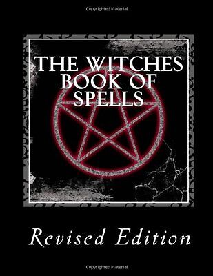 The Witches Book Of Spells  New  Free Shipping