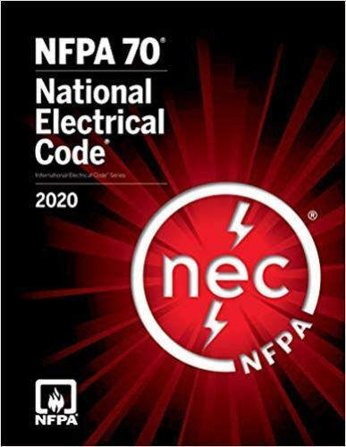 NFPA 70 National Electrical Code NEC 2020 Paperback Softbound 1st Edition