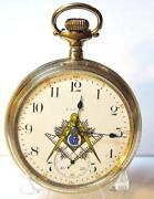 Vintage Masonic Watch