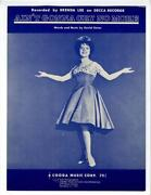Brenda Lee Sheet Music
