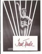 Jane Fonda Signed