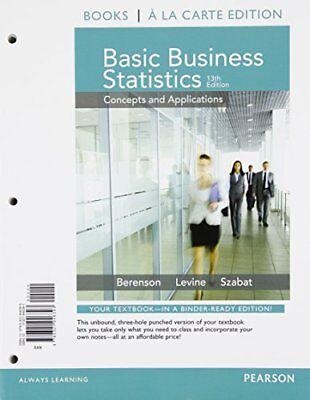 Basic Business Statistics Student Value Edition Plus New Mystatlab    13Th Ed