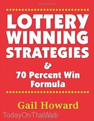 Lottery Winning Strategies    70 Percent Win Formula Paperback By Ms Gail Howard