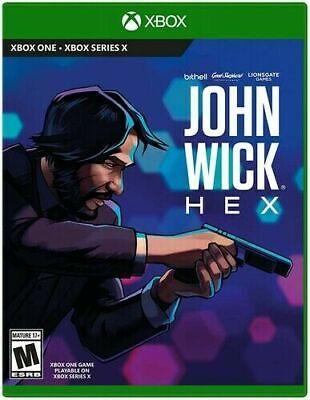 John Wick Hex Xbox One Xbox Series X Brand New Sealed