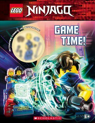 Game Time! (Lego Ninjago: Activity Book with Minifigure) 9781338581959