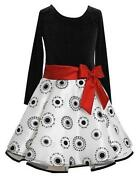 Girls Christmas Dress Size 7