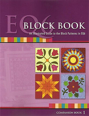Eq6 Block Book Electric Quilt 6 Software Reference