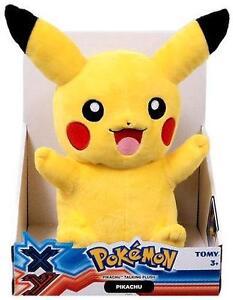 Pokémon Talking Pikachu Plush by TOMY - *BRAND NEW + SEALED!*