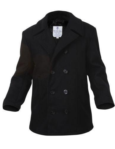 60cb21ad4c3 Mens us navy pea coat ebay JPG 388x500 Navy pea coats sale used