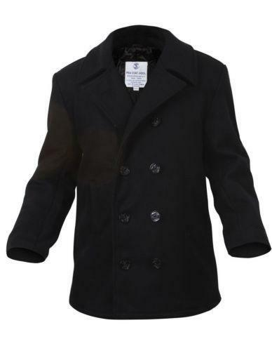Real Navy Pea Coat