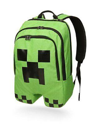 Minecraft Schoolbag School Backpack Rucksack Book Creeper Storage Bag Sports