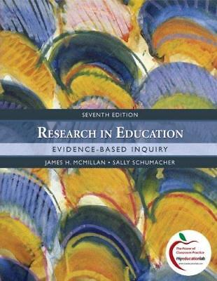 Research In Education  Evidence Based Inquiry 7E Global Edition