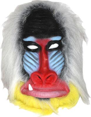 Baboon Mask Animal  Adult Jungle Halloween Costumes](Baboon Costume)