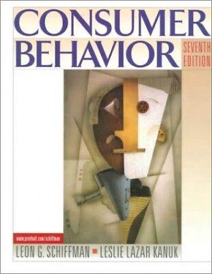 Consumer Behavior: United States Edition by Kanuk, Leslie Lazar Hardback Book